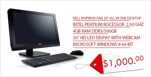 DELL ALL IN ONE 